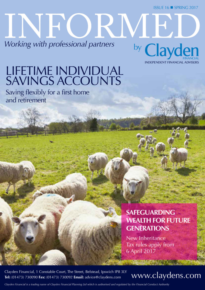 Informed Clayden Financial Spring 2017