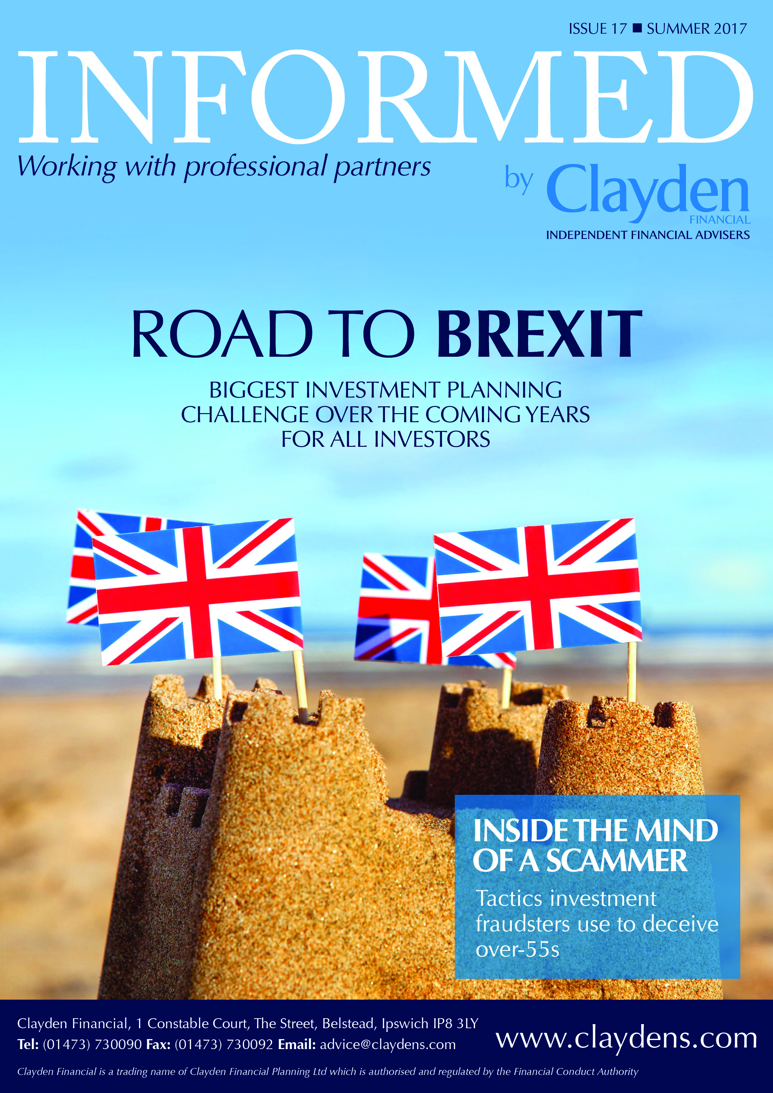 Clayden Financial Informed summer newsletter