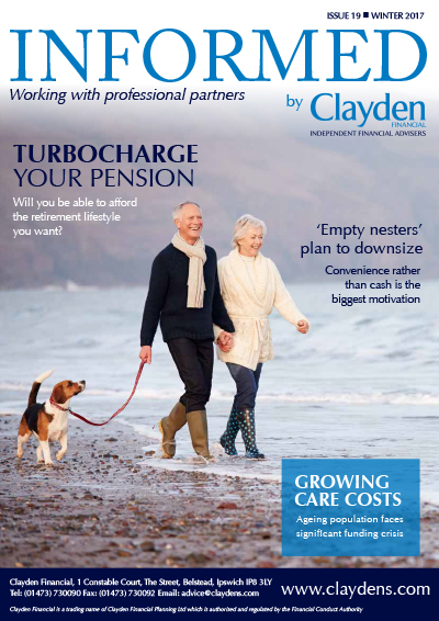 Informed Clayden Financial Newsletter Winter 2017