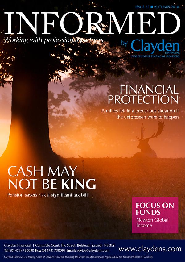 Clayden Financial Informed Newsletter Autumn 2018