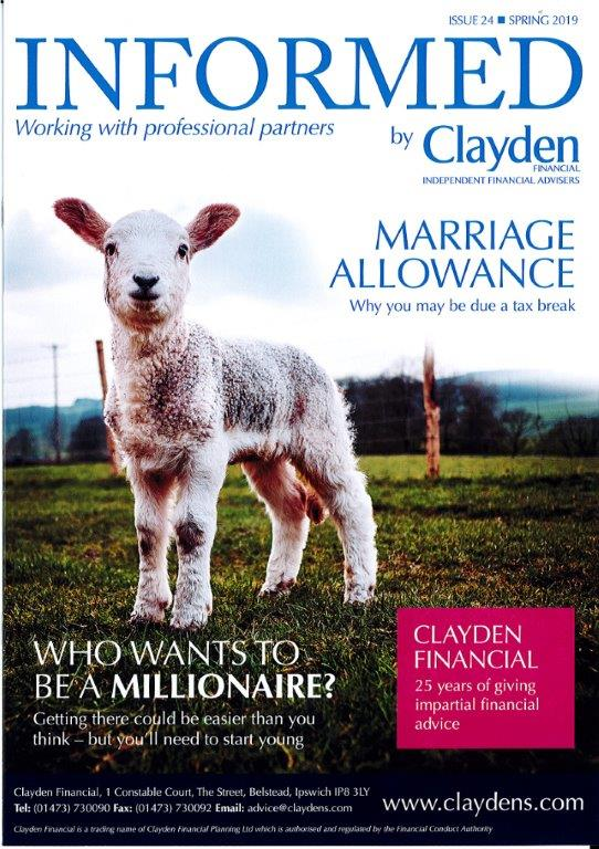 Clayden Financial Informed Spring Newsletter